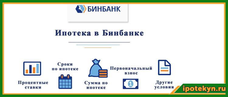 Ипотека в бинбанке условия в 2021 году