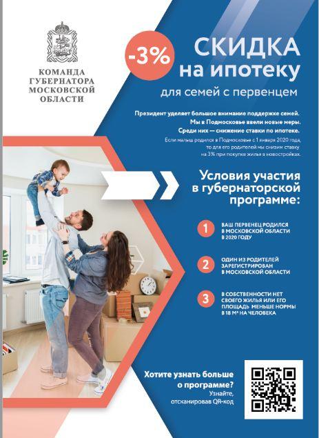Программа социальная ипотека в московской области